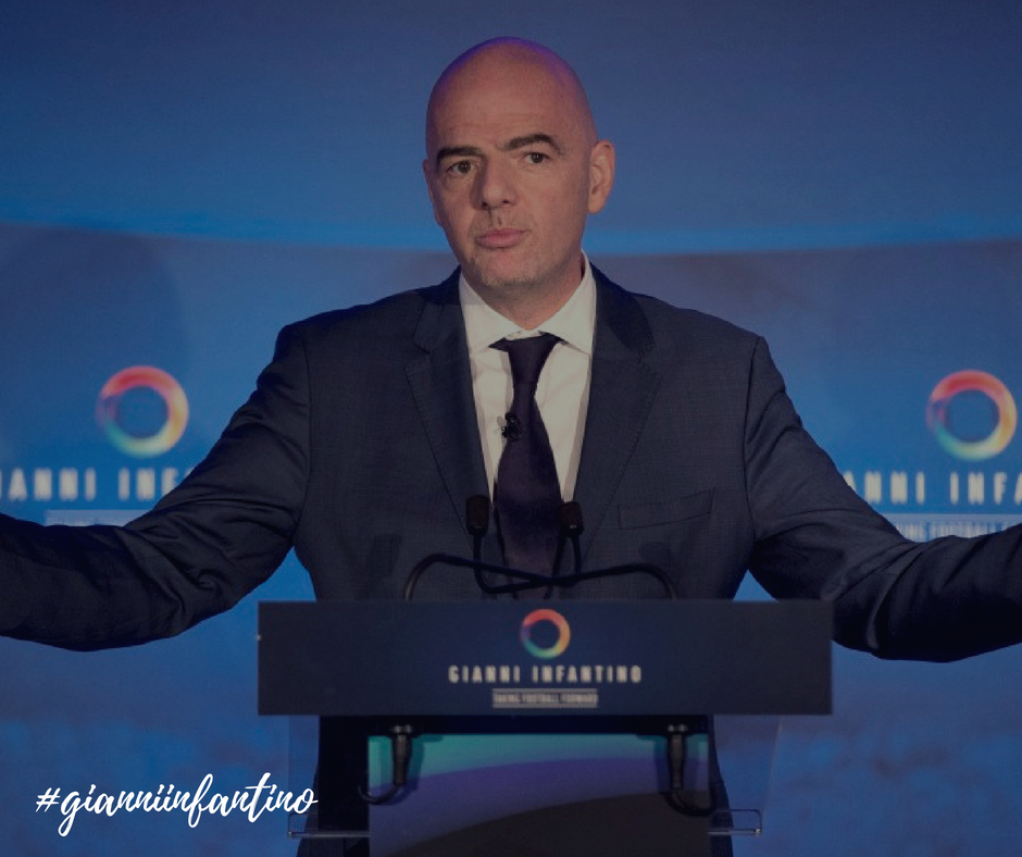 Gianni Infantino Manifesto